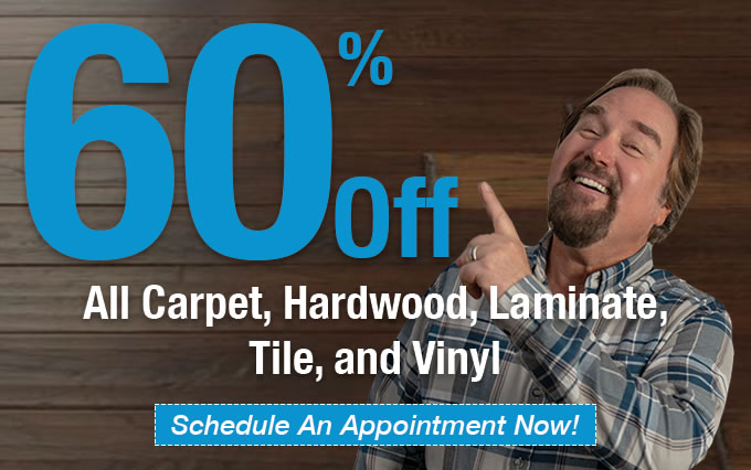 60% off flooring