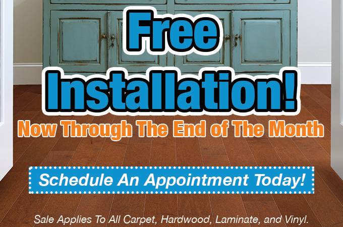 Free Flooring Installation