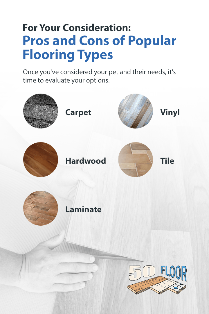 pros and cons by flooring type