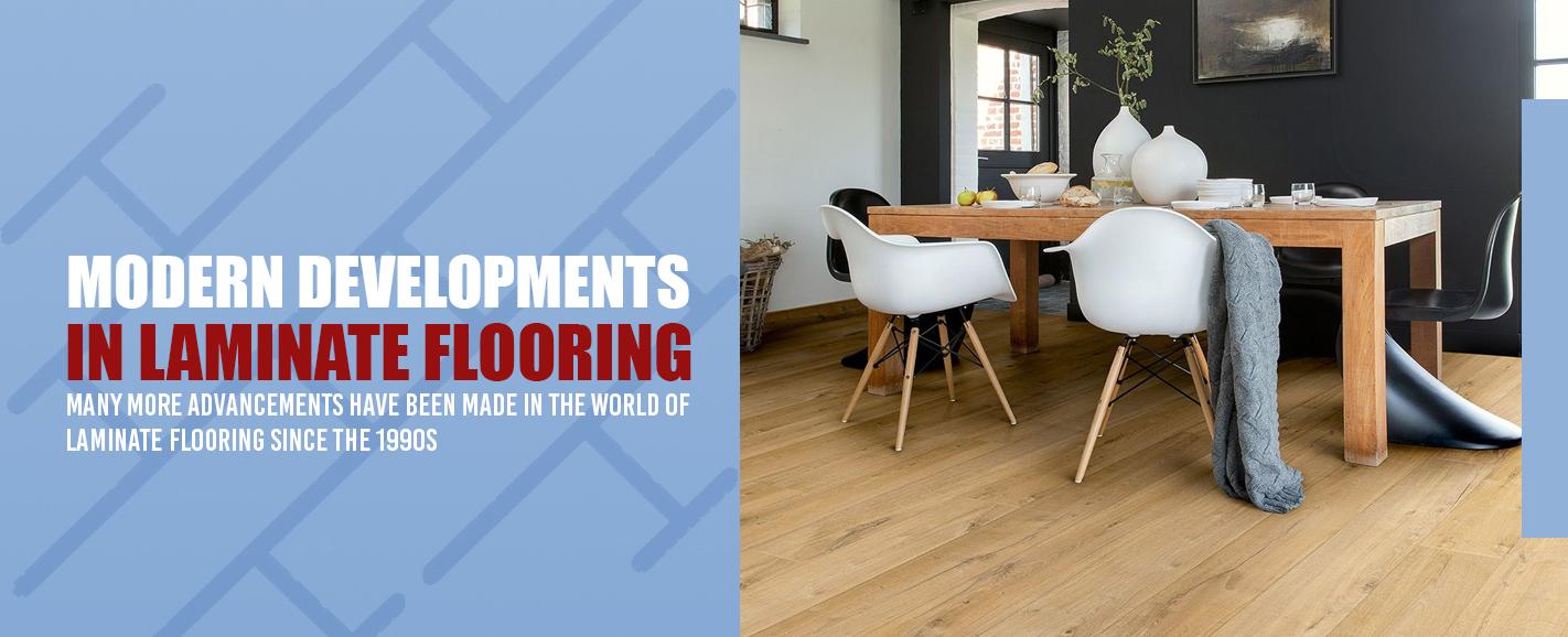 Laminate Flooring Modern Developments