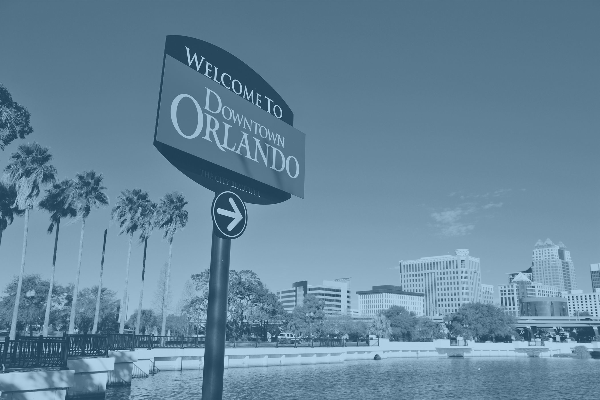 Welcome to Orlando Sign