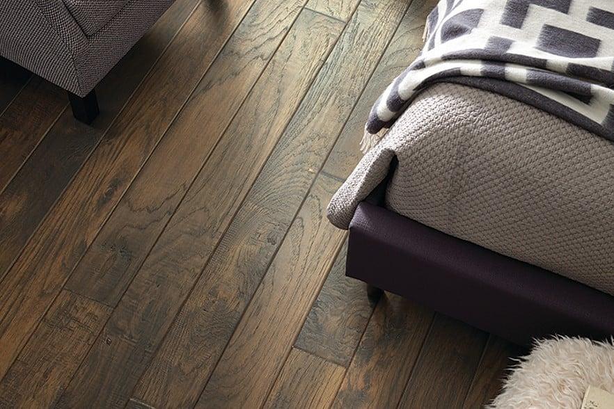 Matte Wood Flooring
