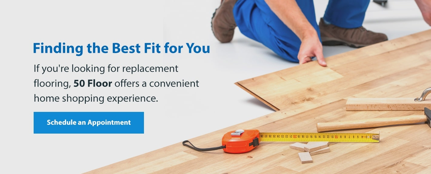 Schedule Appointment for Replacement Floors