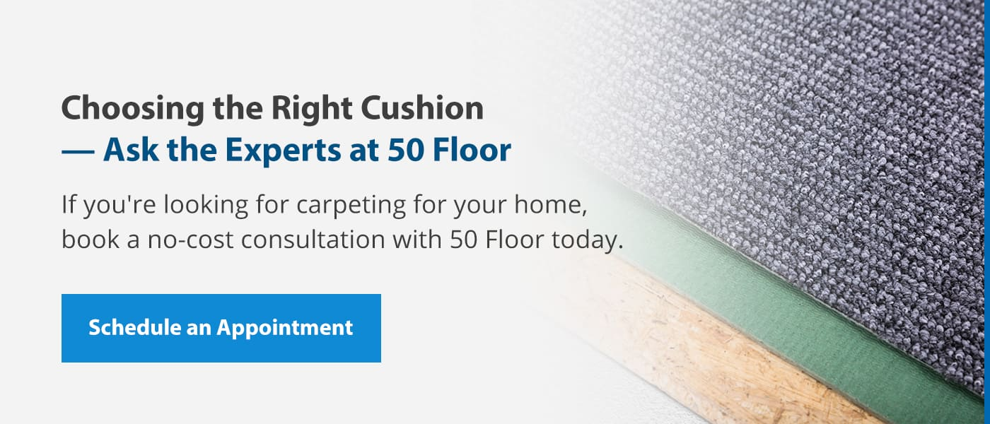schedule an appointment to find carpet