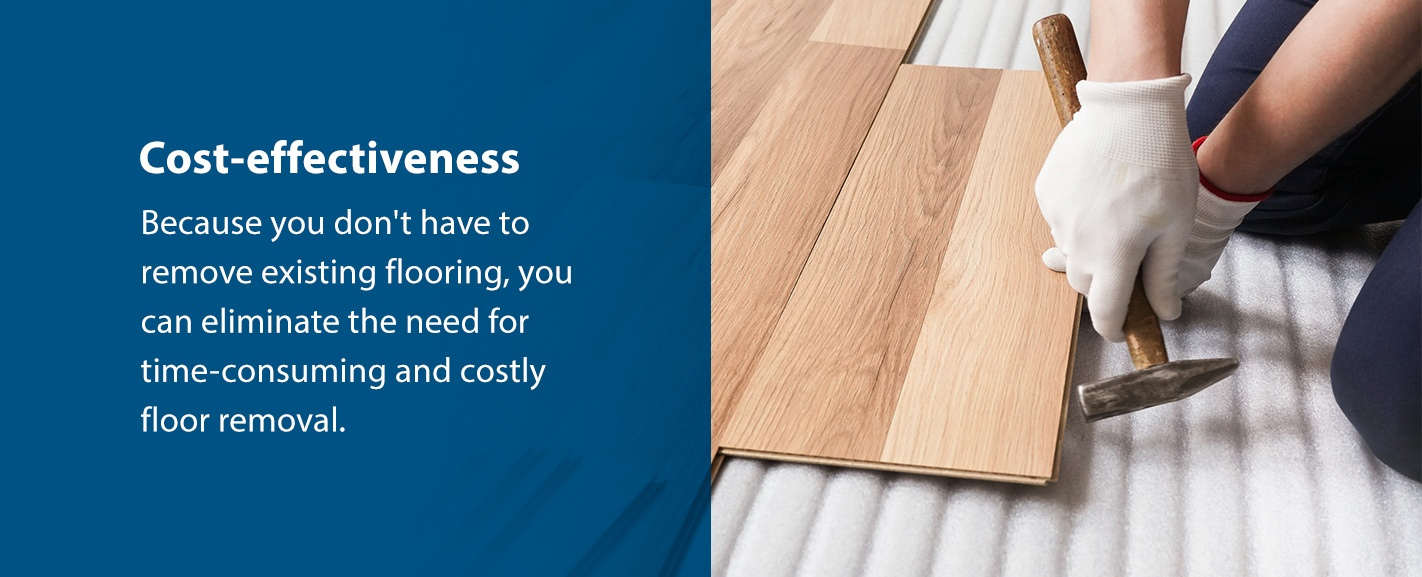 Cost-effectiveness of floating flooring