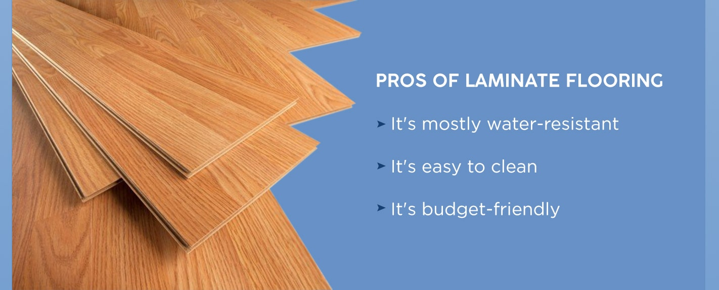 Pros of laminate flooring for laundry rooms