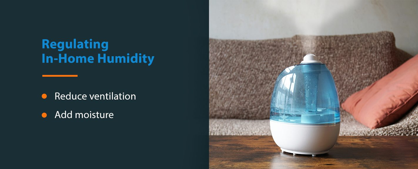 Regulate In-Home Humidity