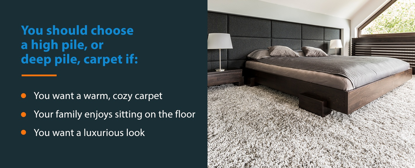 Choose High Pile Carpet If