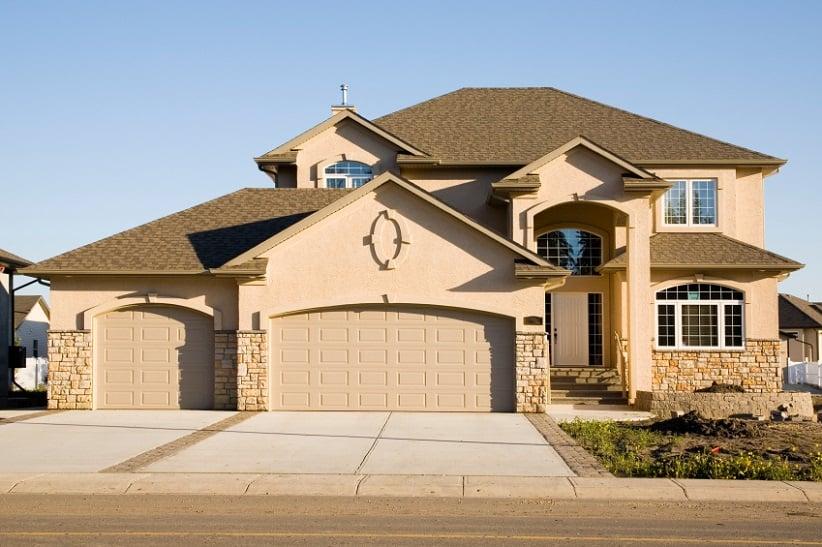 light brown home exterior