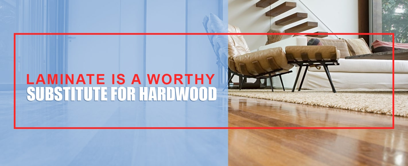 Laminate as Substitute for Hardwood Flooring