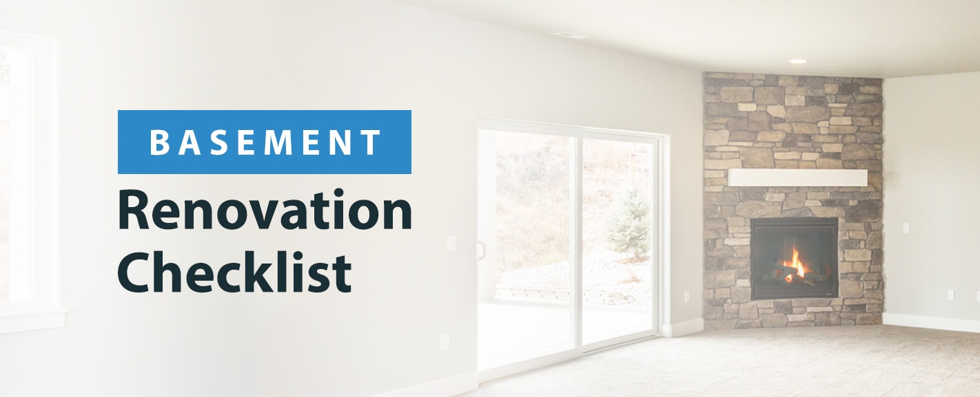 Basement Renovation Checklist