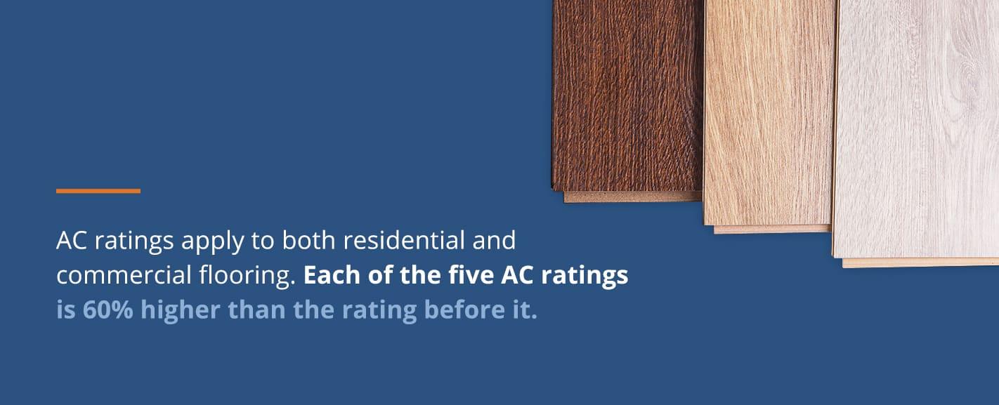 Five AC ratings