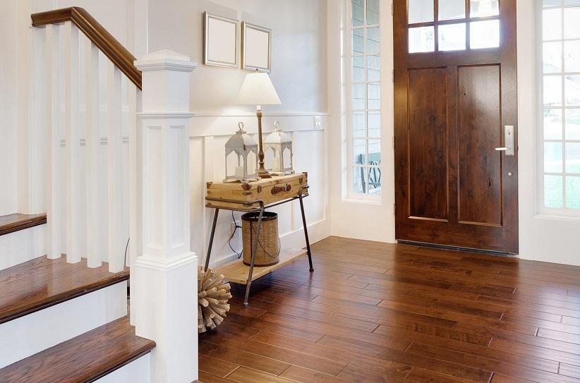 Wood Flooring Entryway