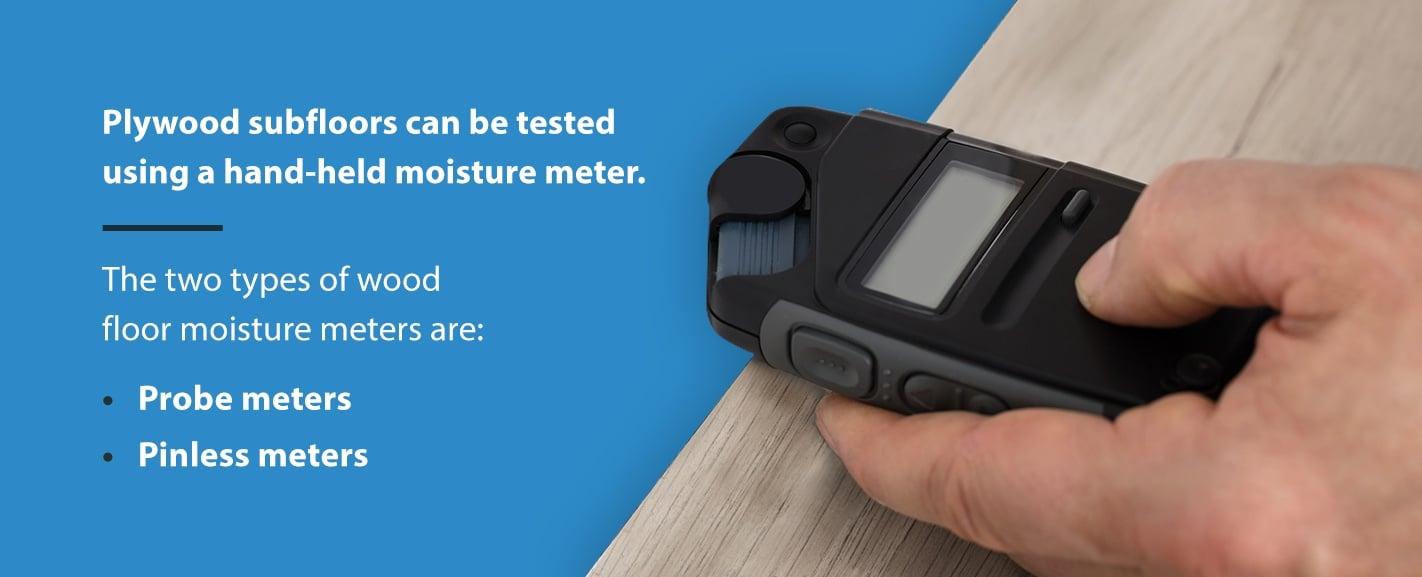 floor moisture meters