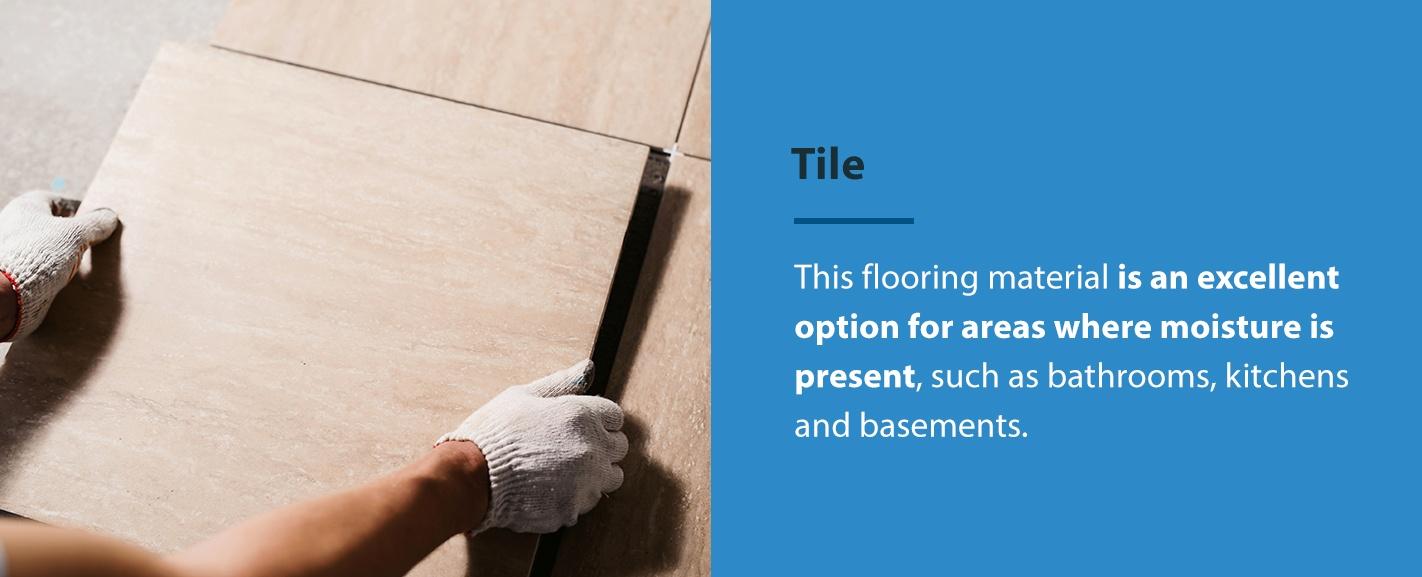 Tile in rental properties