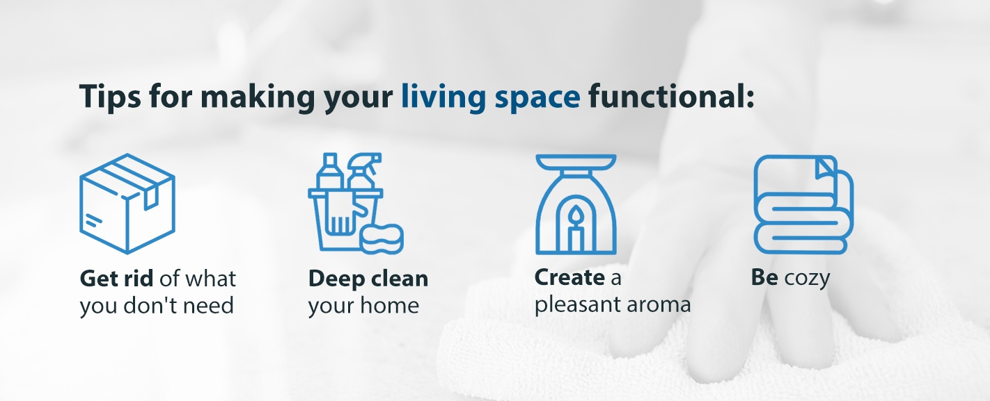 Tips for Making Your Living Space Functional