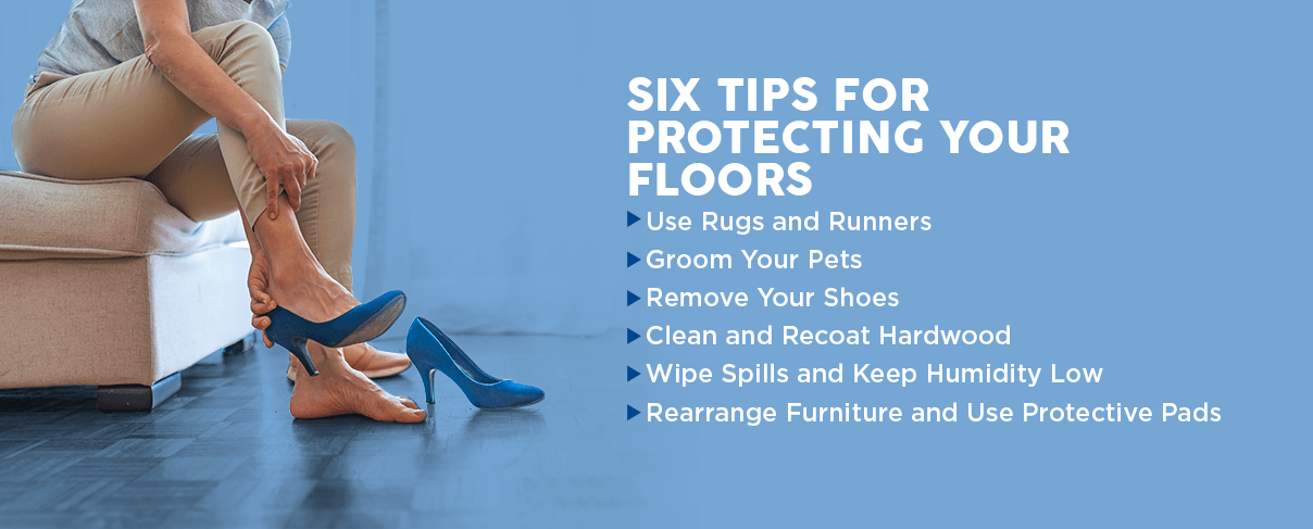 6 tips for protecting your floors