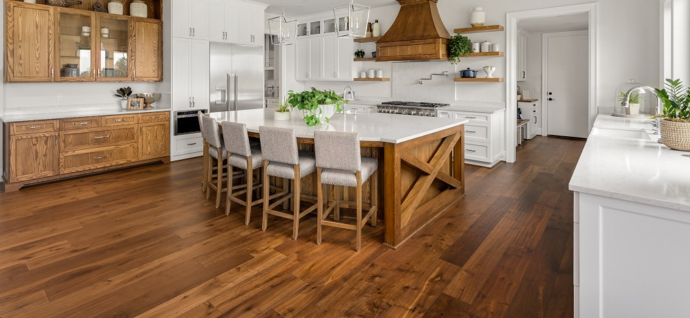 hardwood in kitchen