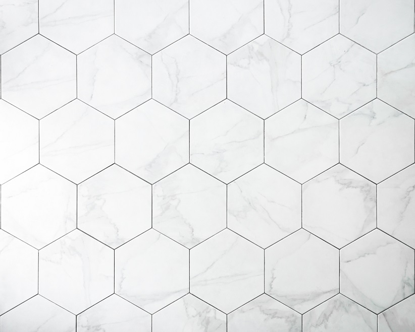hexagon tile flooring