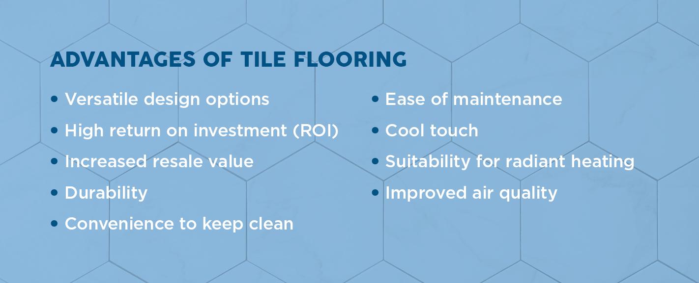 Advantages of Tile Flooring