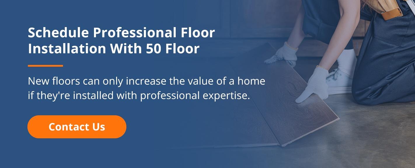 Schedule Professional Flooring Installation
