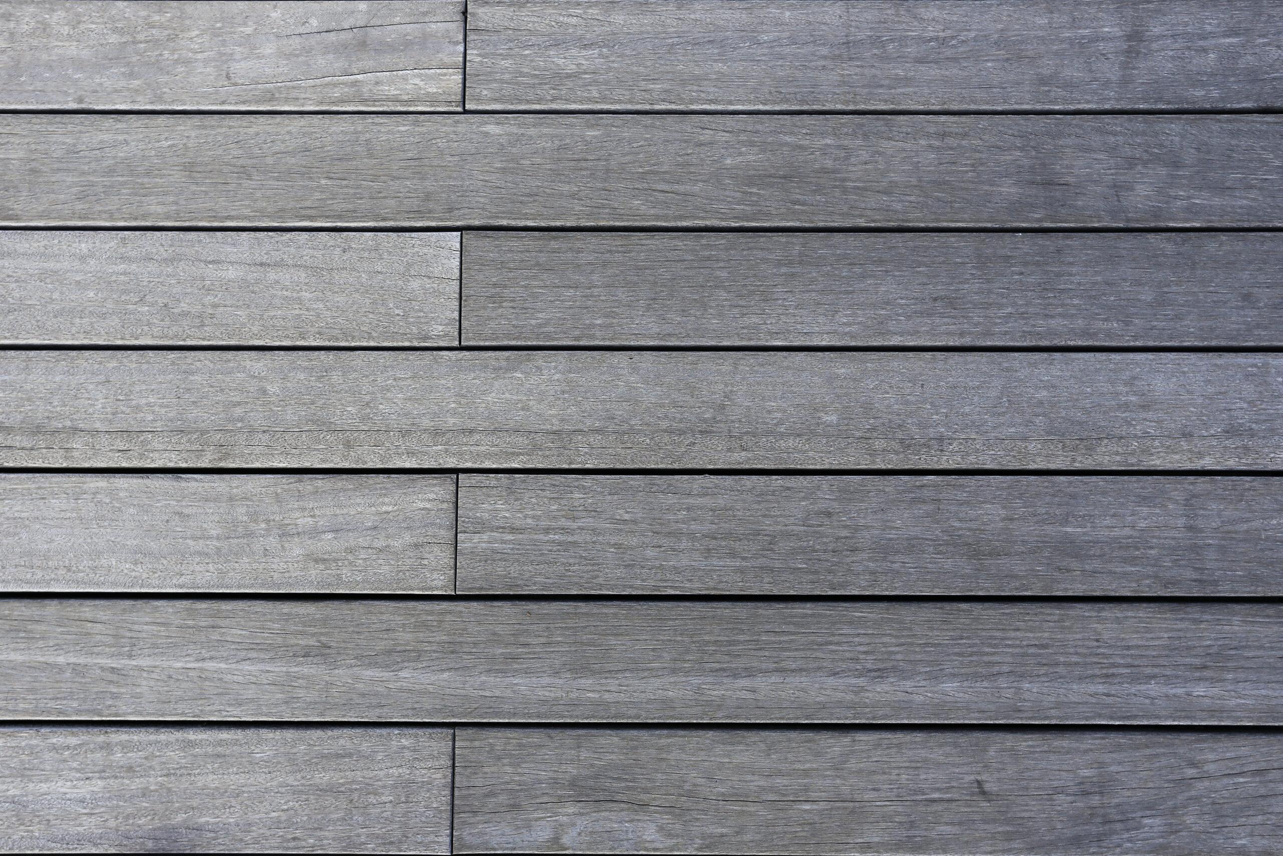 grey wood flooring planks