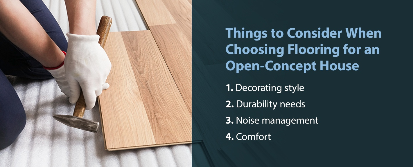 Things to Consider When Choosing Flooring for an Open-Concept House