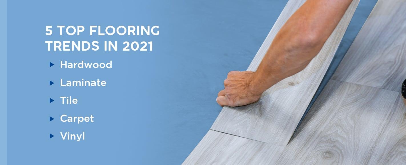 5 Top Flooring Trends in 2021
