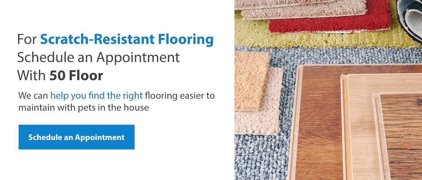 Get Scratch-Resistant Flooring