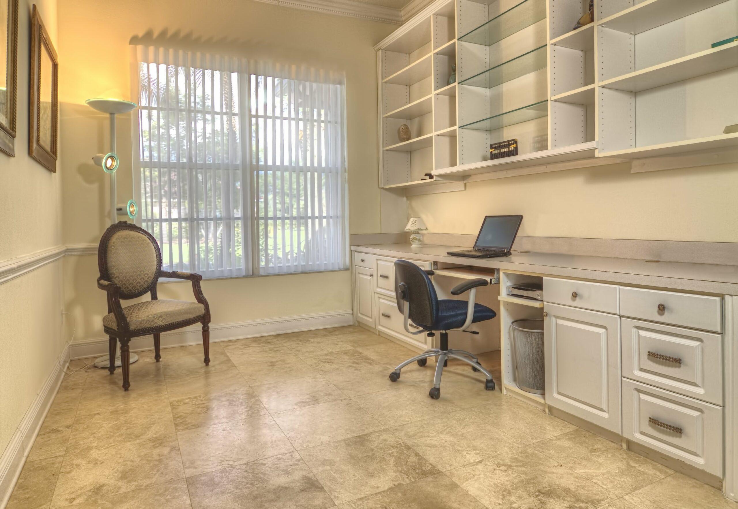 tile in office